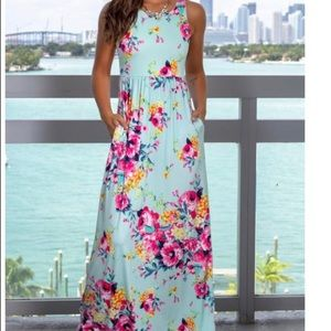 e8818f10b9eac saved by the dress. Floral maxi dress